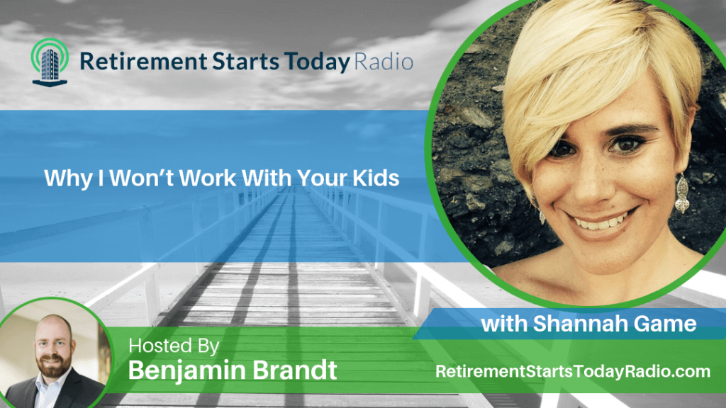 Why I Won't Work With Your Kids, with Shannah Game