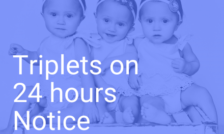 Triplets on 24 Hours Notice – Our Adoption Story