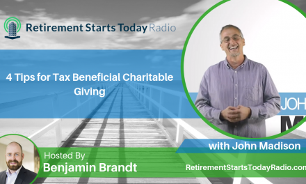 4 Tips for Tax Beneficial Charitable Giving with John Madison, Ep #96