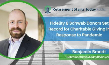 Fidelity & Schwab Donors Set Record for Charitable Giving in Response to Pandemic, Ep #187