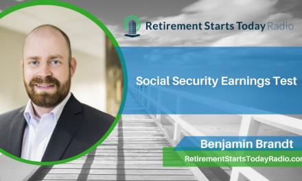 Social Security Earnings Test, Ep #205